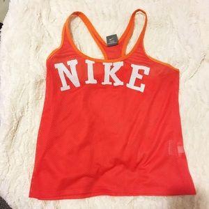 Nike mesh tank top
